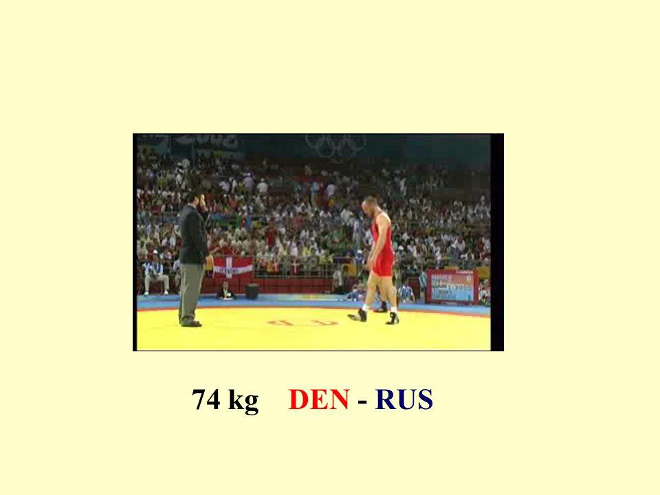 74 kg DEN - RUS