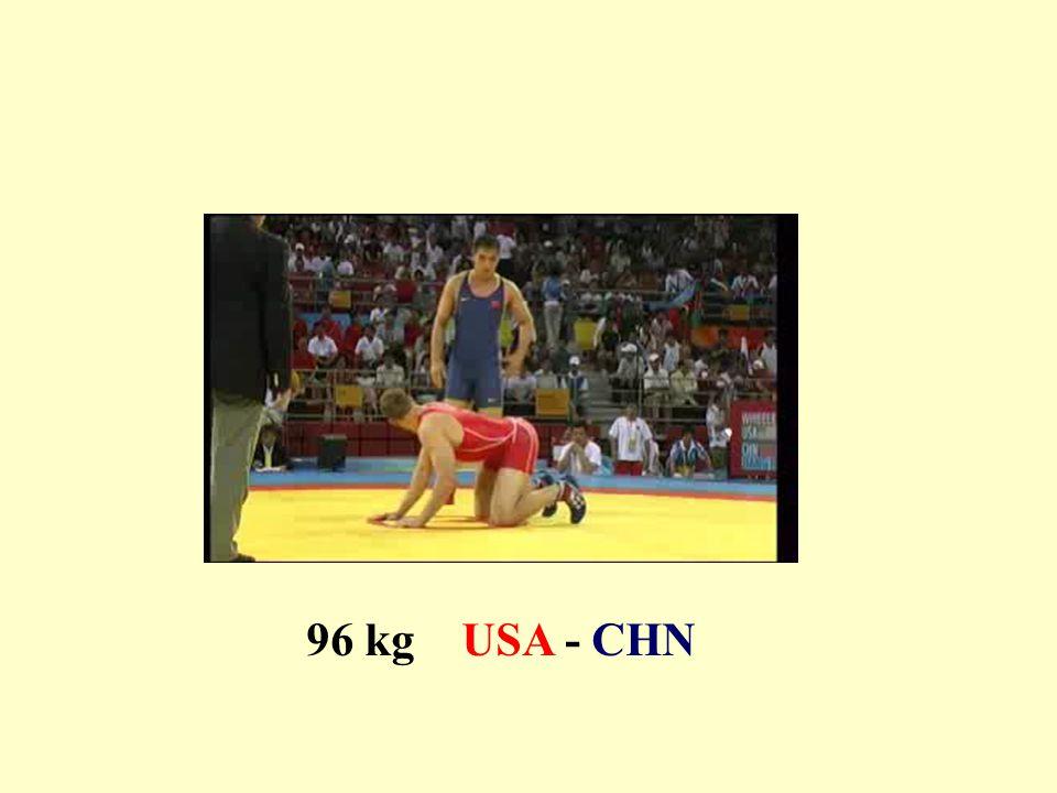 96 kg USA - CHN