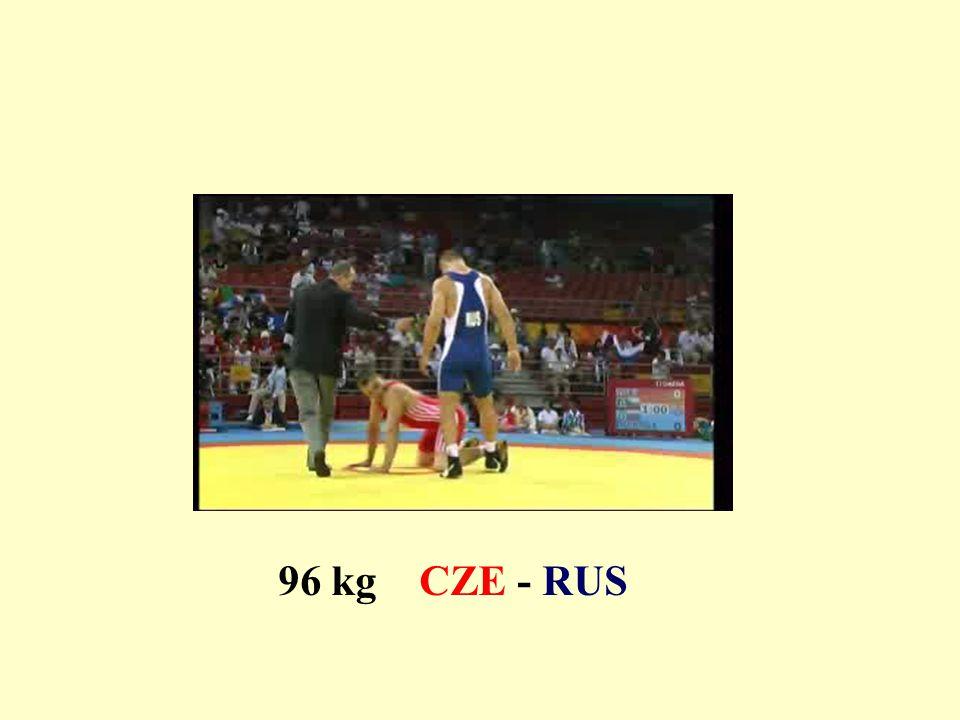 96 kg CZE - RUS