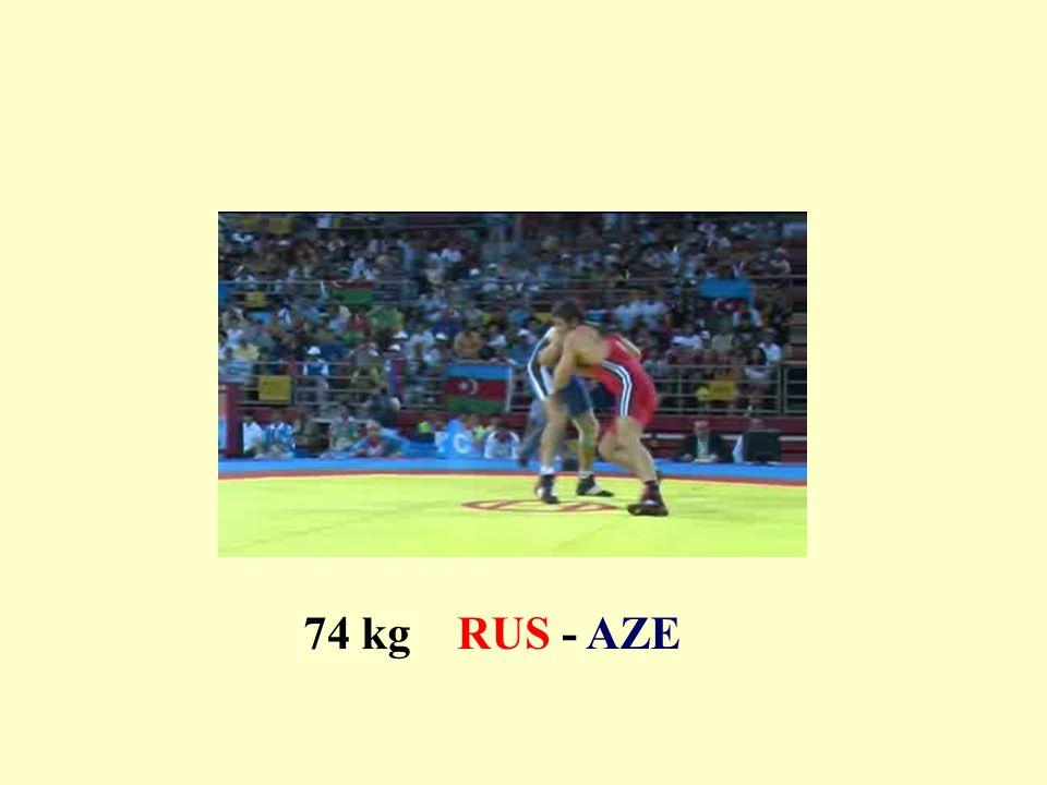74 kg RUS - AZE