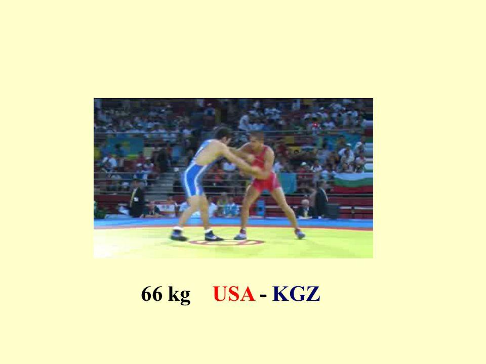 66 kg USA - KGZ