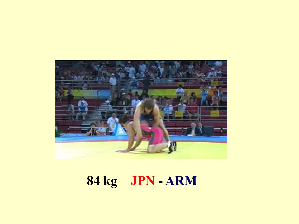 84 kg JPN - ARM