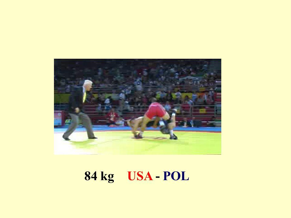 84 kg USA - POL