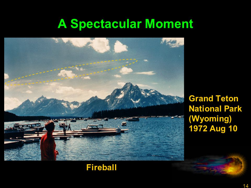14 A Spectacular Moment Grand Teton National Park (Wyoming) 1972 Aug 10 Fireball