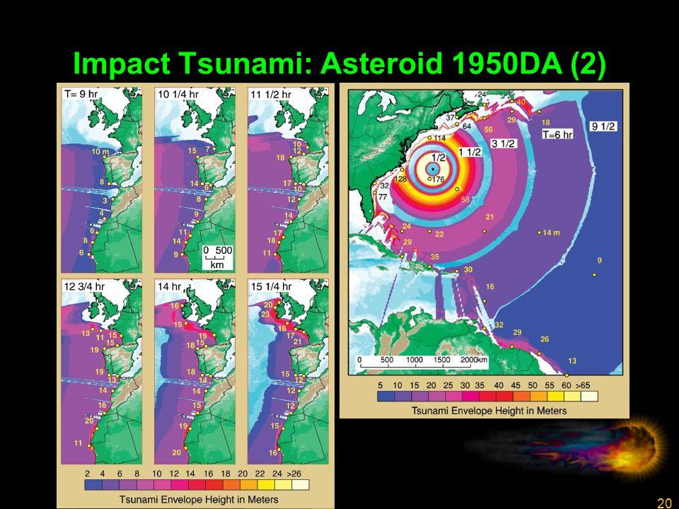 20 Impact Tsunami: Asteroid 1950DA (2)