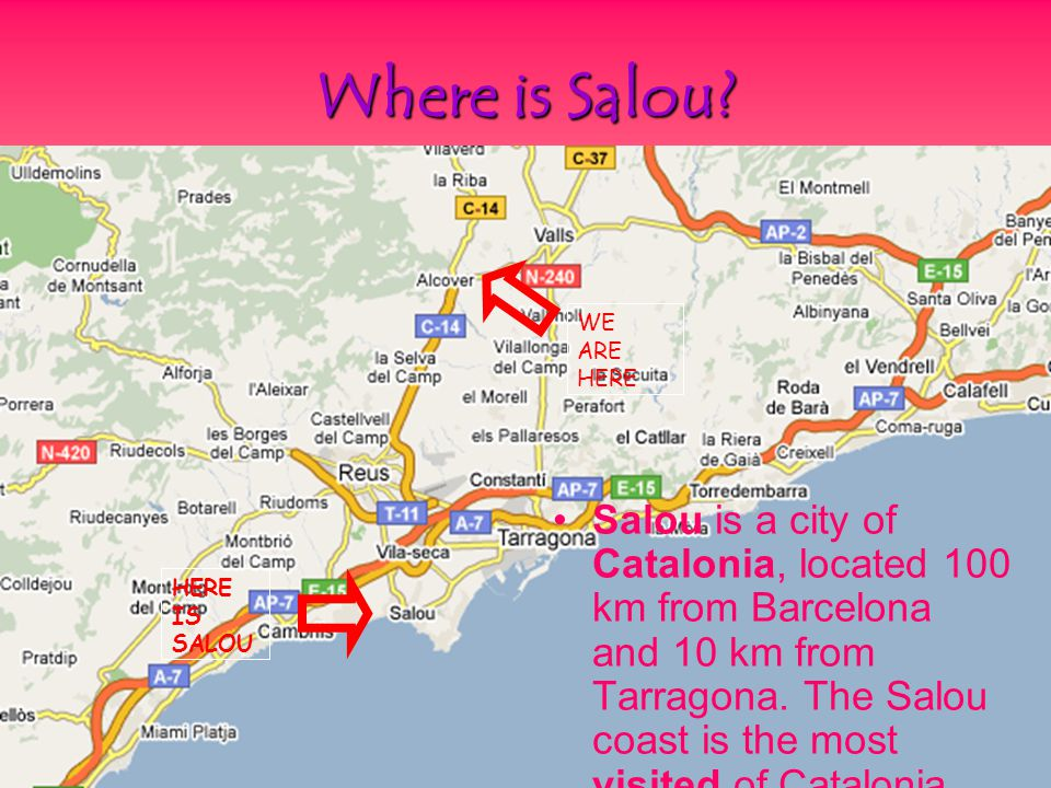 Caracteristics!!* Salou is known for its white sand beaches and caves filled with romantic charm.