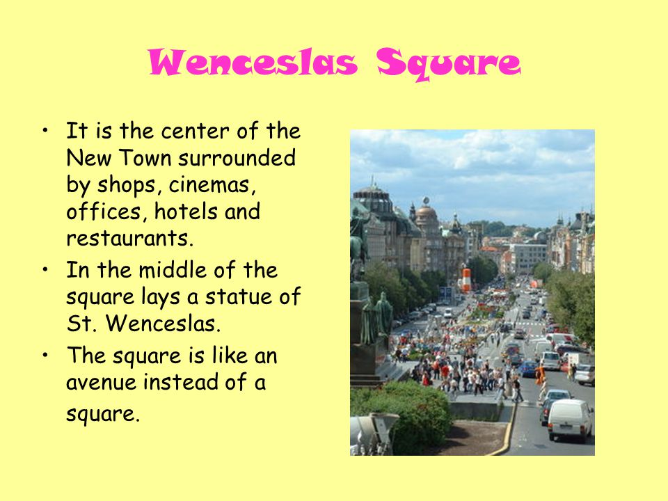 It is the center of the New Town surrounded by shops, cinemas, offices, hotels and restaurants.