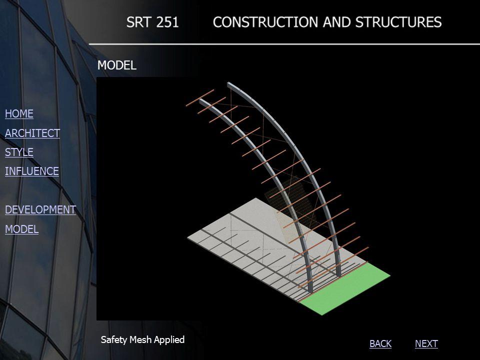 NEXTBACK Safety Mesh Applied HOME ARCHITECT STYLE INFLUENCE DEVELOPMENT MODEL