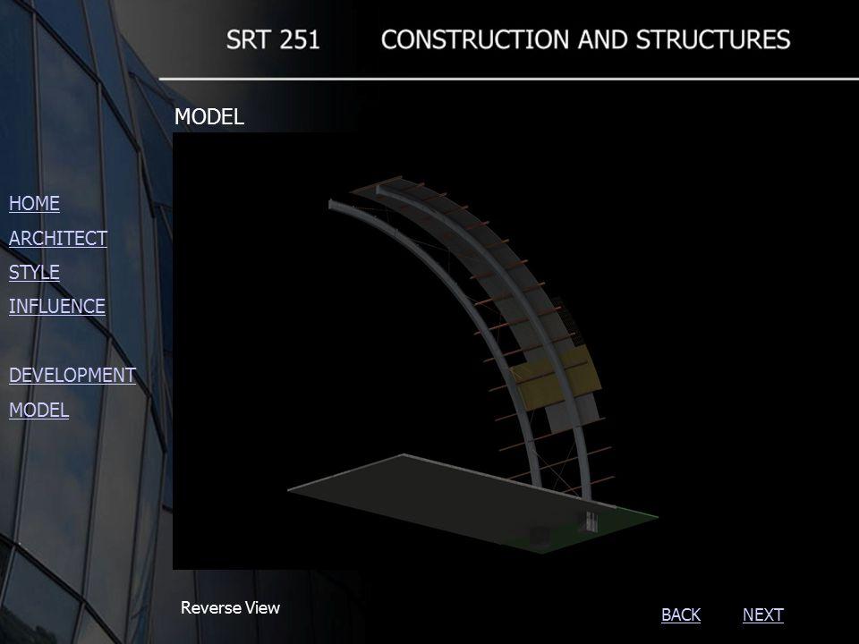 NEXTBACK Reverse View HOME ARCHITECT STYLE INFLUENCE DEVELOPMENT MODEL