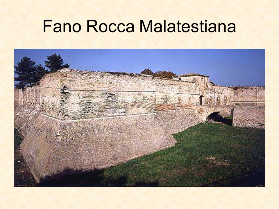 Fano Rocca Malatestiana