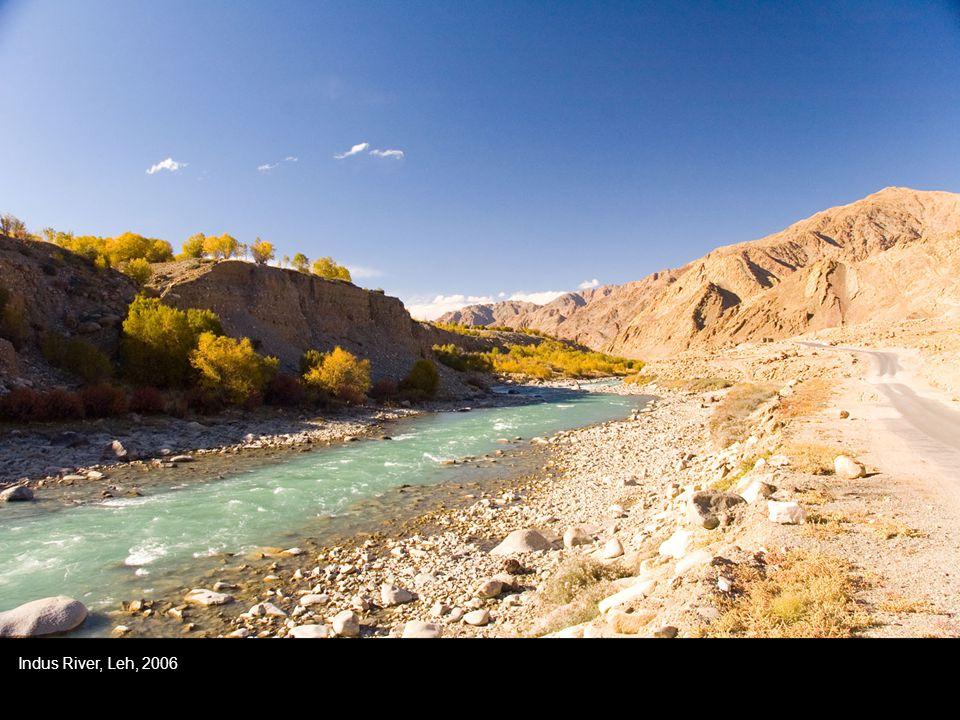 Indus River, Leh, 2006