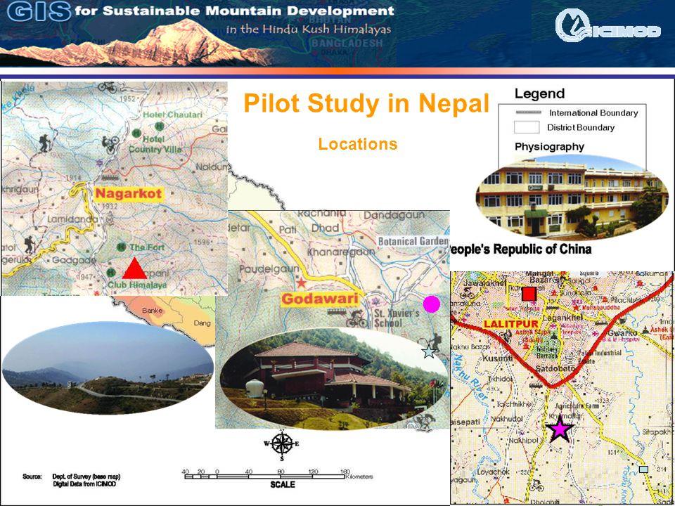 Pilot Study in Nepal Locations