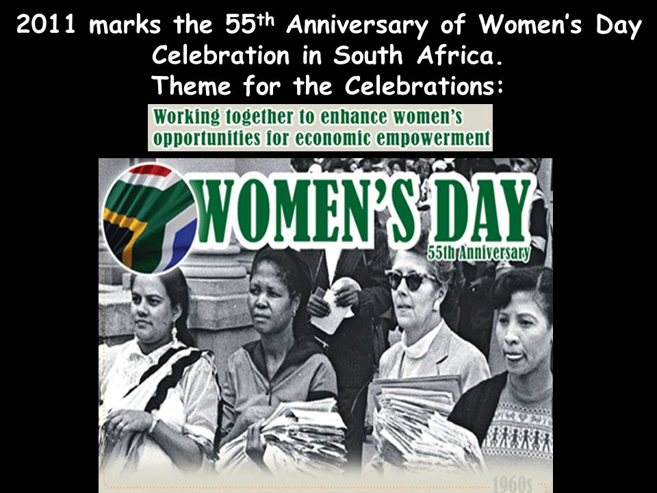 Theme: 'WE REMEMBER, WE CELEBRATE AND HONOUR, AND WE CONTINUE TO MARCH FORWARD TOWARDS EQUITY AND EQUALITY FOR ALL WOMEN' ( quoted from 2006 UWC newsl