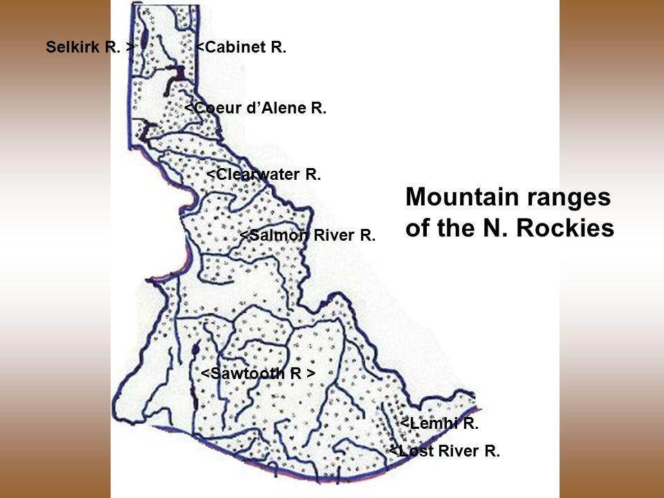 <Coeur d'Alene R. <Clearwater R. <Salmon River R.
