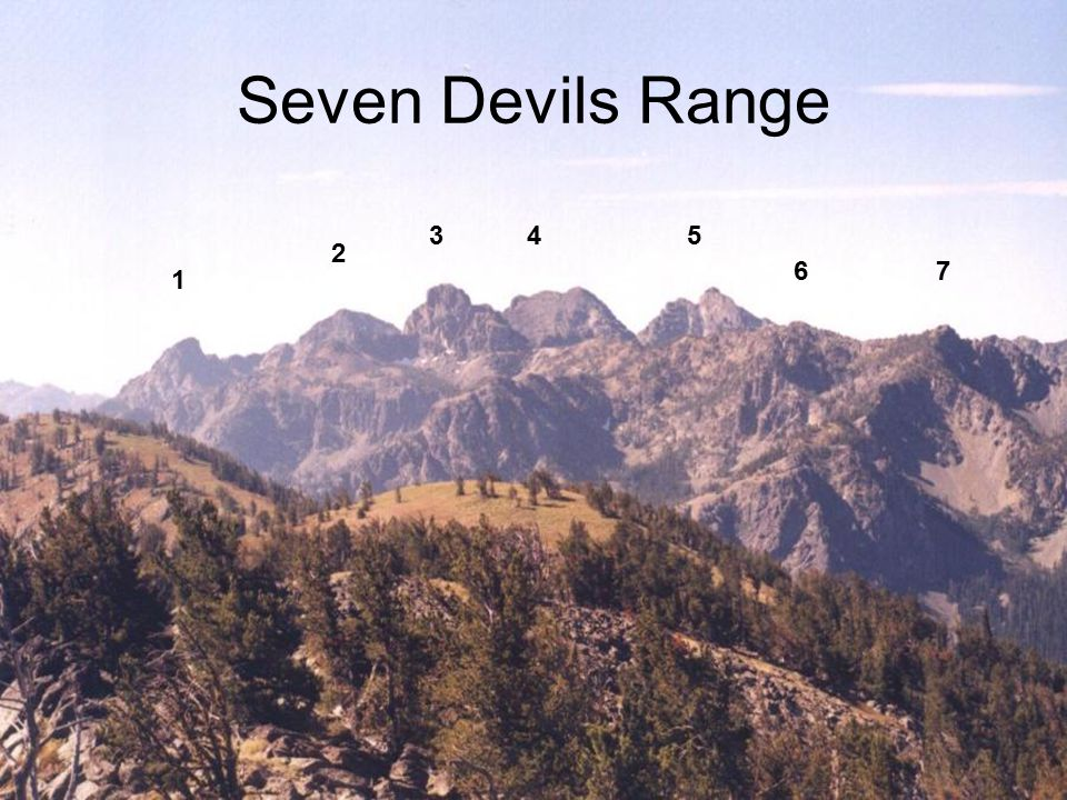 Seven Devils Range 1 2 345 67