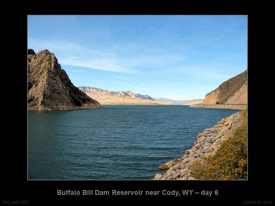 Buffalo Bill Dam Reservoir near Cody, WY – day 6 IMG_0627.JPG2008-09-24 09:45