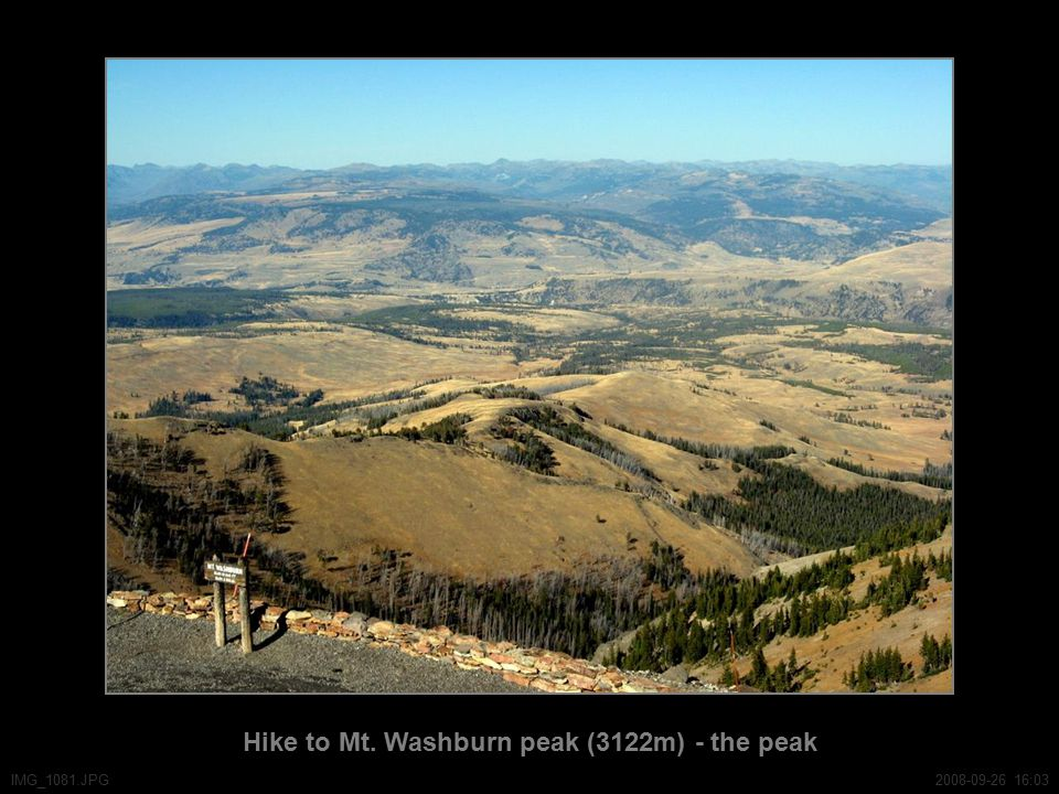 Hike to Mt. Washburn peak (3122m) - the peak IMG_1081.JPG2008-09-26 16:03