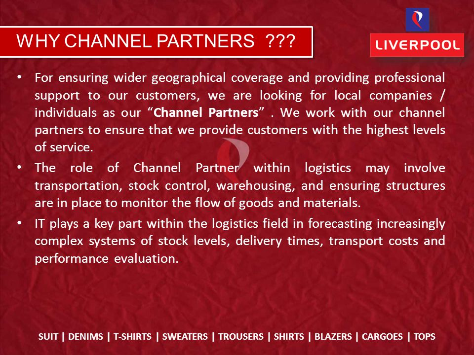 For ensuring wider geographical coverage and providing professional support to our customers, we are looking for local companies / individuals as our Channel Partners .