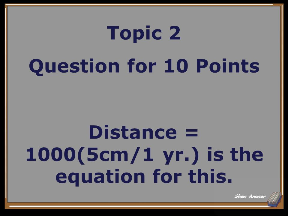 Topic 2 Answer for 5 Points What is the theory of plate tectonics? Back to Board