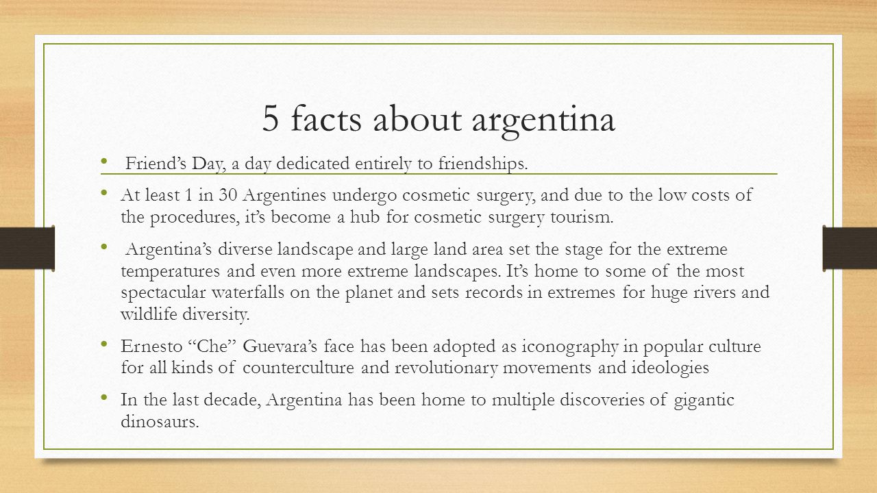 5 facts about argentina Friend's Day, a day dedicated entirely to friendships.