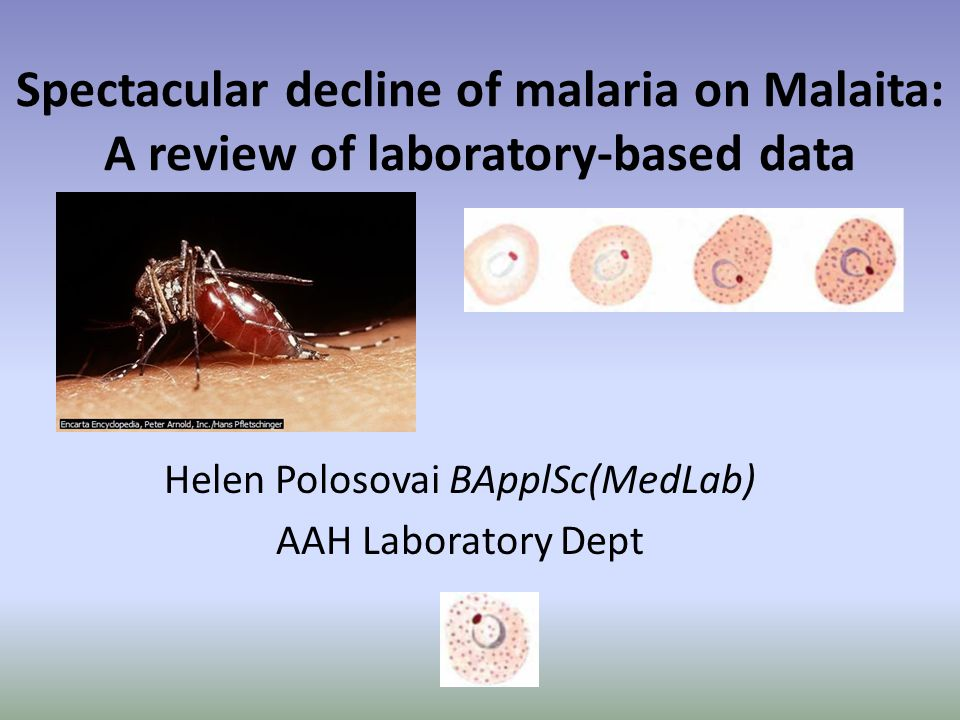 Malaria incidence in villages The API for the Atoifi catchment area declined from 195 in 2008 to 24 in 2013.