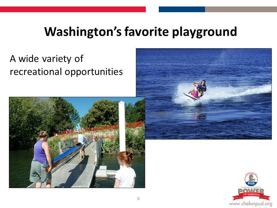 Washington's favorite playground 7 Spectacular scenery of the Cascade range