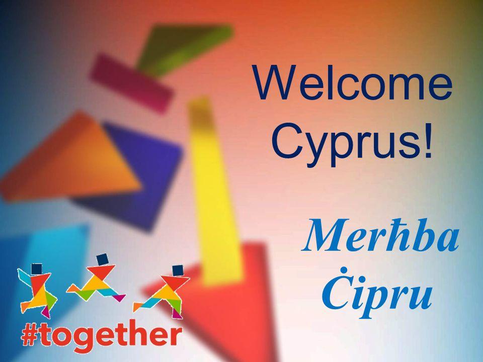 Welcome Cyprus! Merħba Ċipru