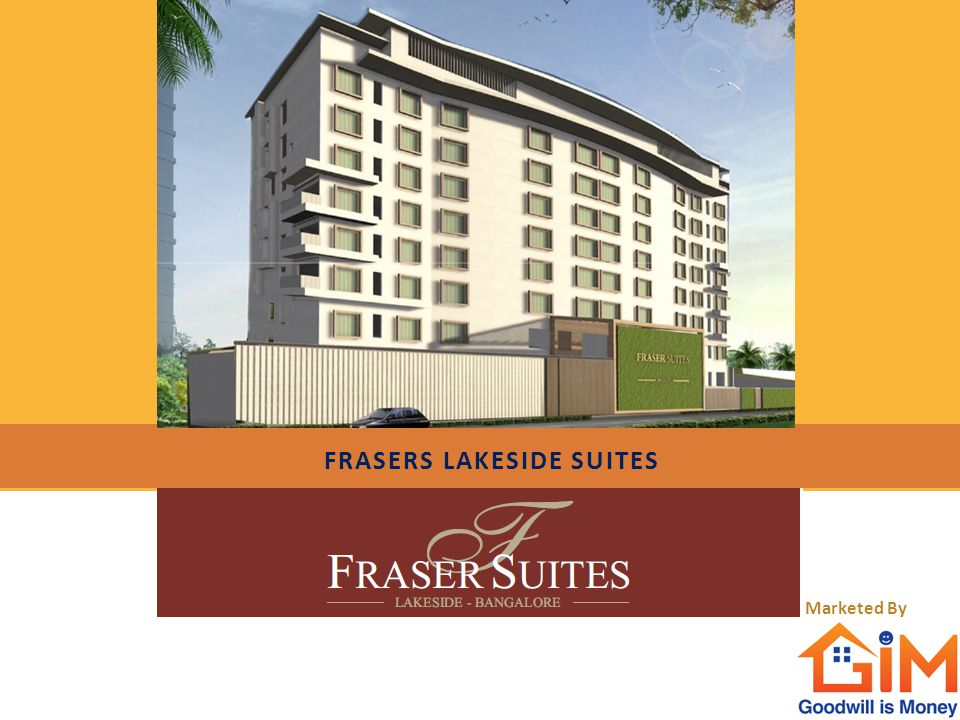 FRASERS LAKESIDE SUITES Marketed By