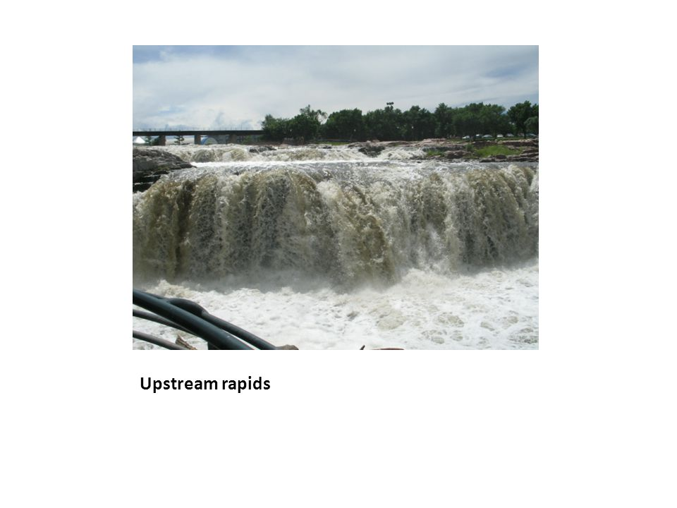 Upstream rapids