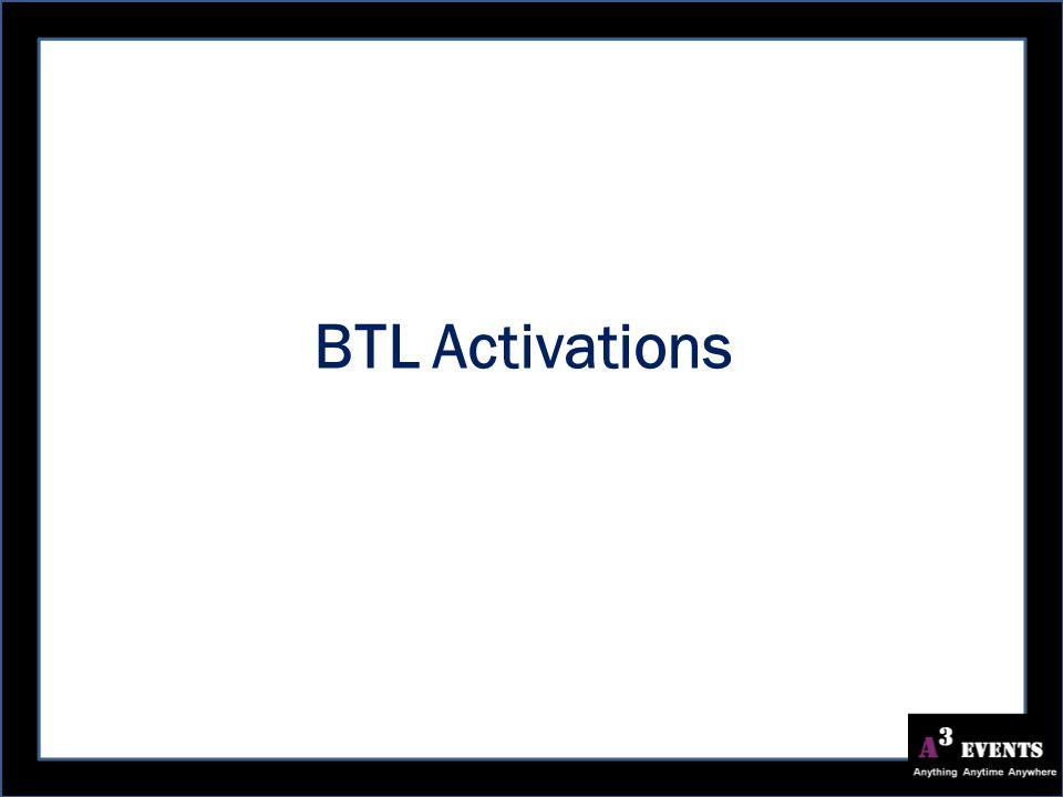 BTL Activations