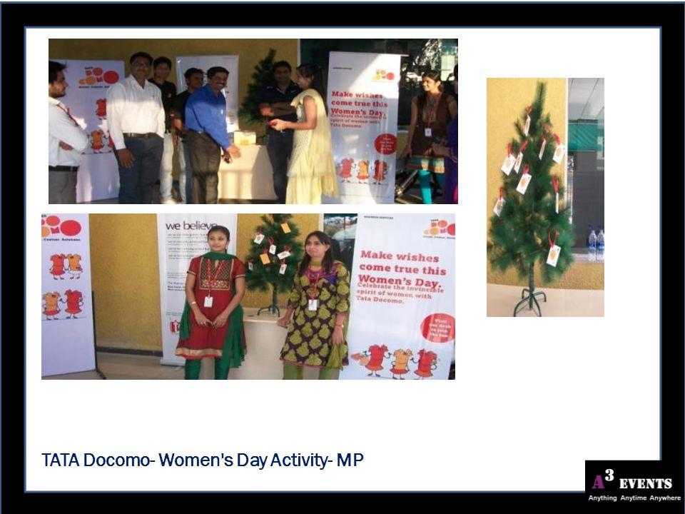 TATA Docomo- Women s Day Activity- MP