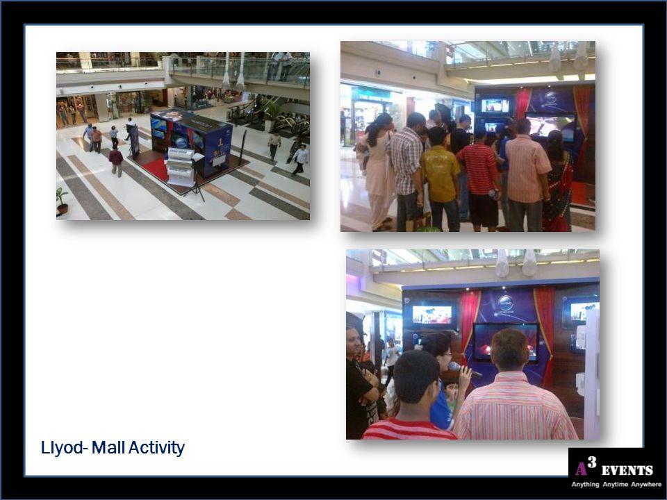 Llyod- Mall Activity