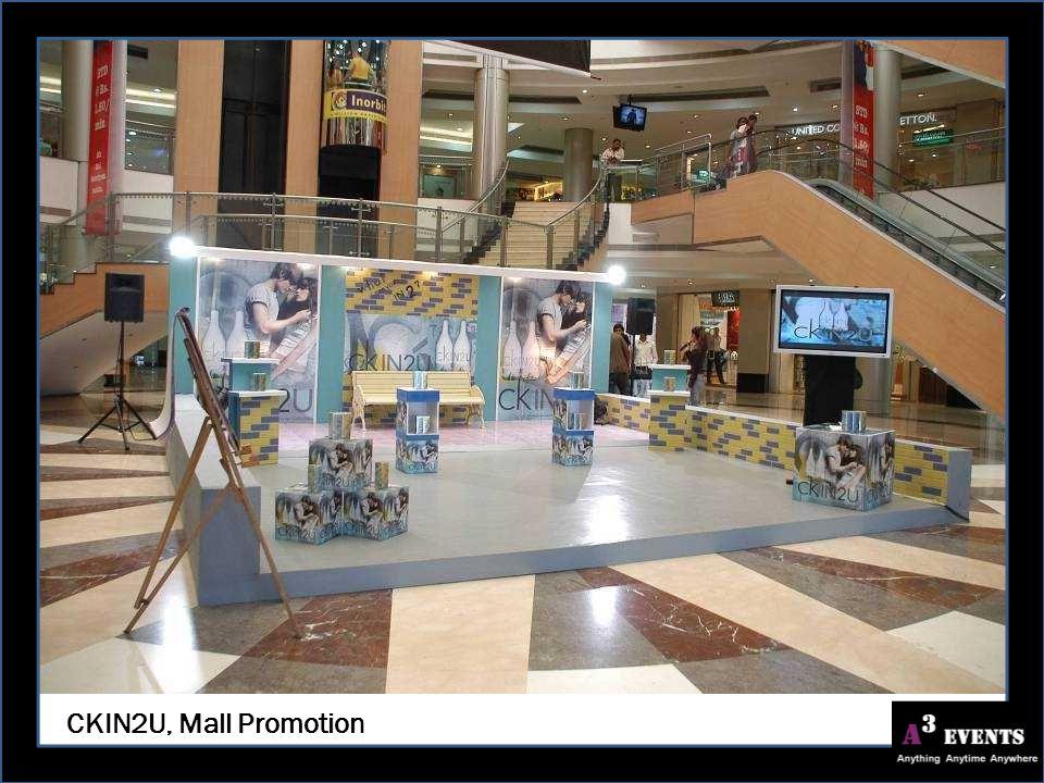 CKIN2U, Mall Promotion