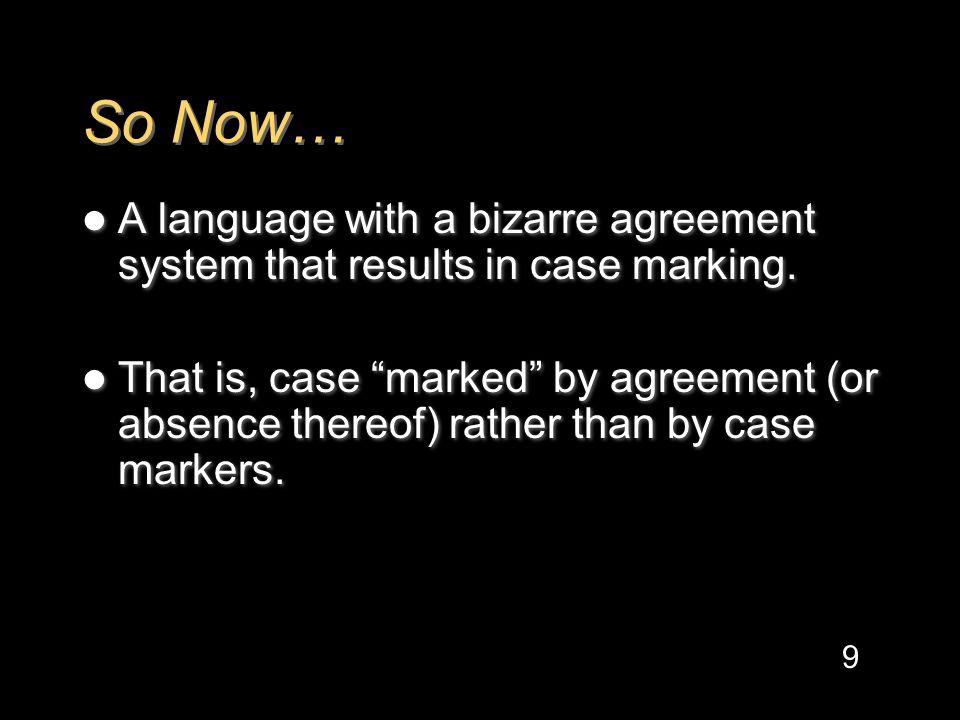 More.Exceptional Case Marking (ECM):.saNkasElmit,tox,tosallano.