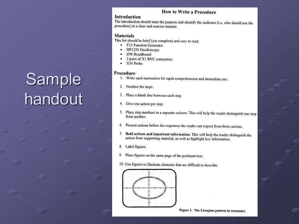 Sample workshop prompt