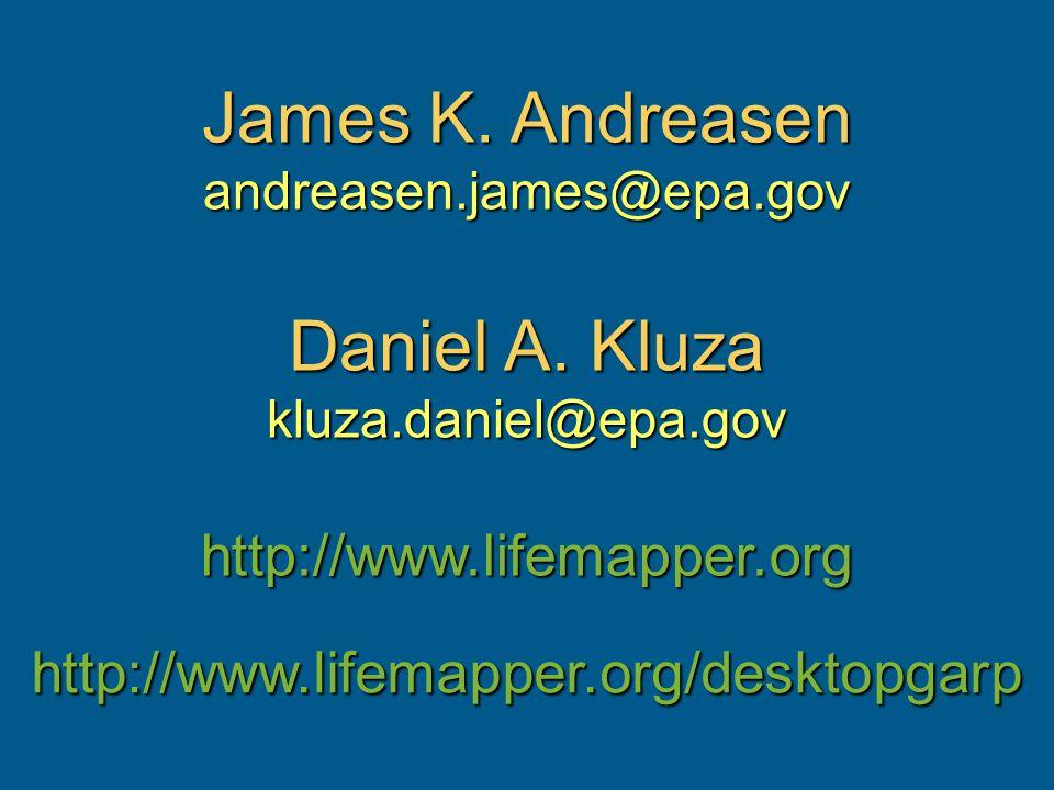 James K. Andreasen andreasen.james@epa.gov Daniel A.