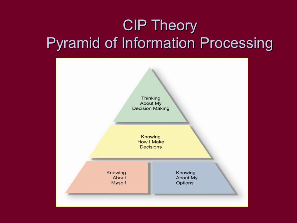 CIP in Practice Experience has shown that CIP concepts can be successfully applied in all forms of service delivery –Self help –Brief staff- assisted –Individual