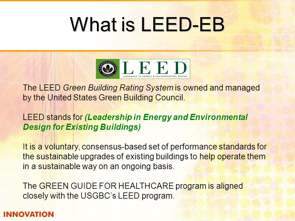 LEED-EB Registered by Type