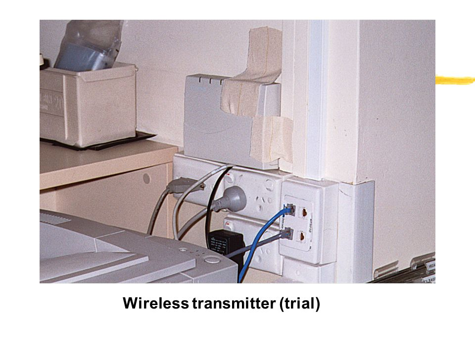 Wireless transmitter (trial)
