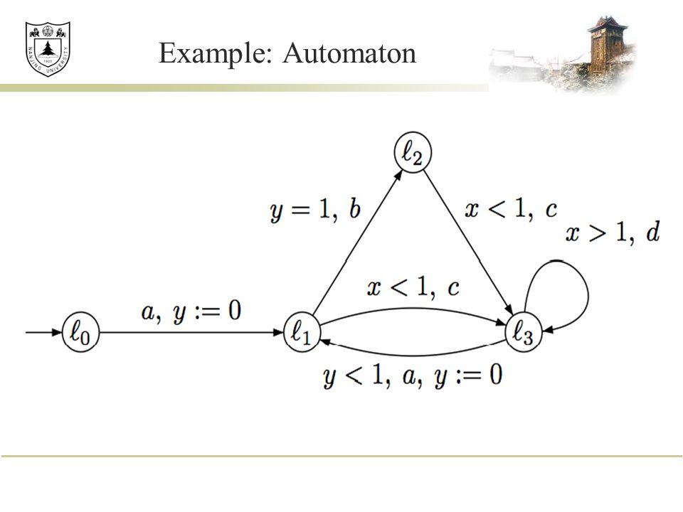 Example: Automaton