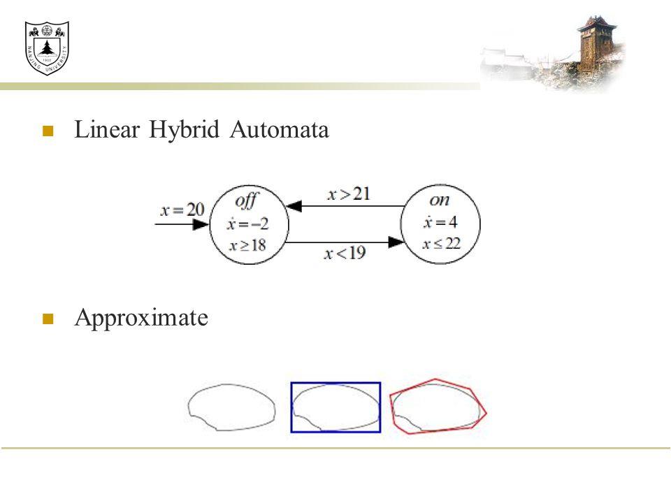 Linear Hybrid Automata Approximate