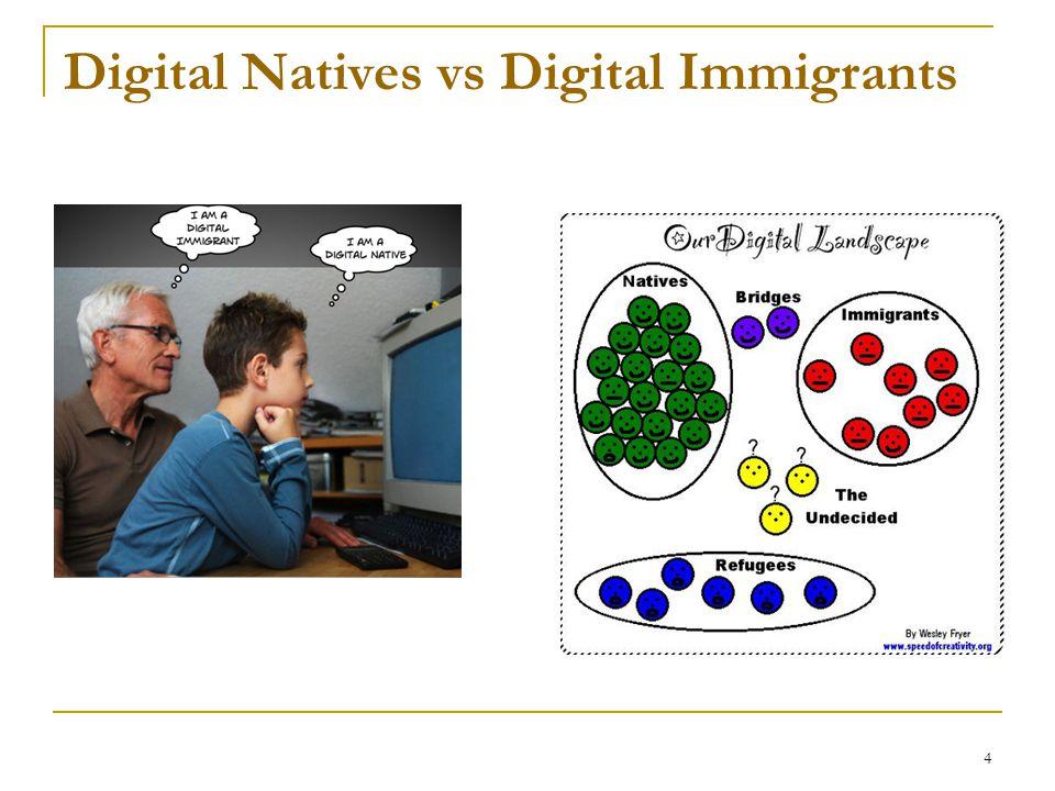 4 Digital Natives vs Digital Immigrants