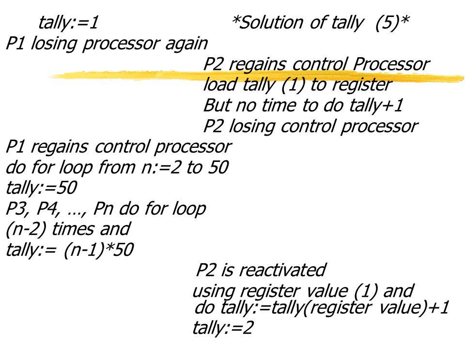 Peterson's Algorithm (0) z 2 Processed Peterson's Algorithm - Mutual exclusion is enforced in the Peterson's Algorithm.