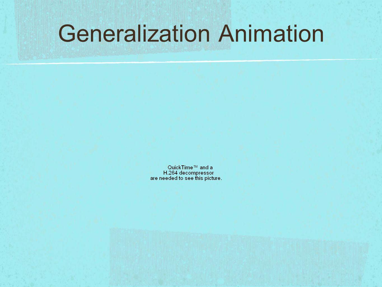 Generalization Animation