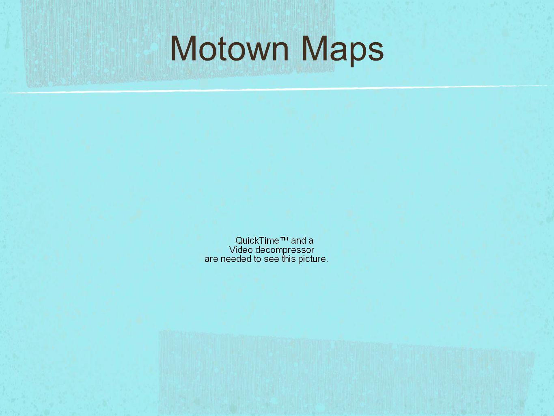 Motown Maps