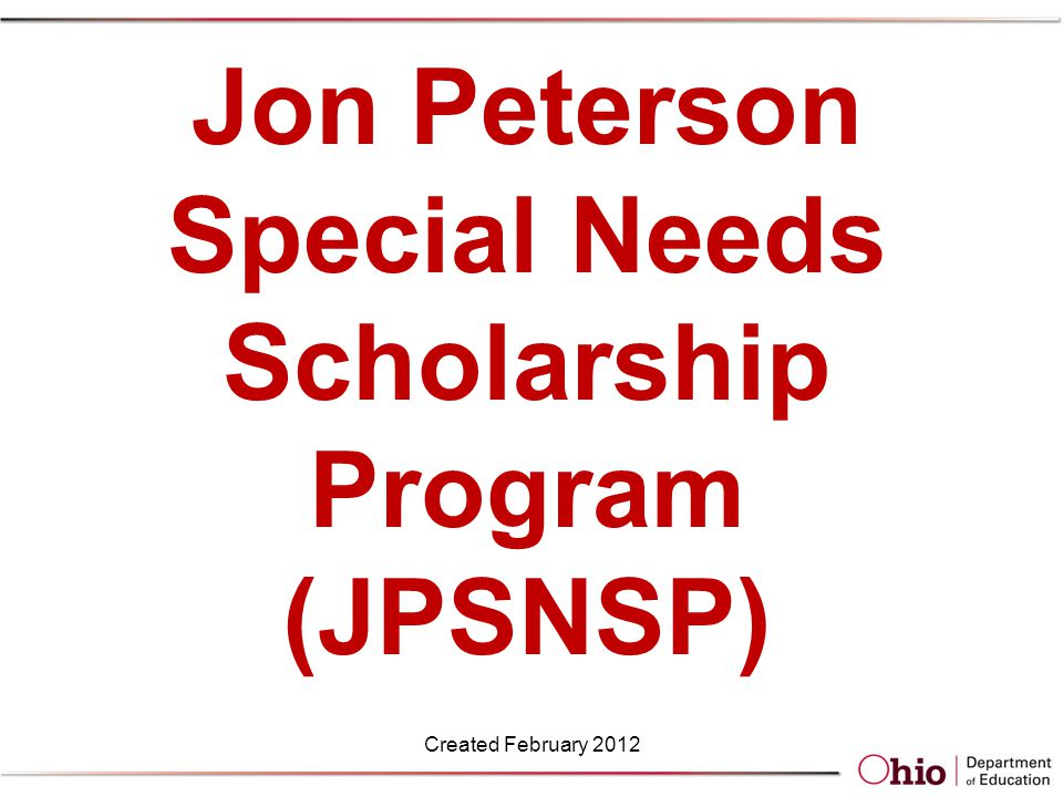 Transfer of Scholarship JPSNS may be transferred to another registered provider or alternative public provider.