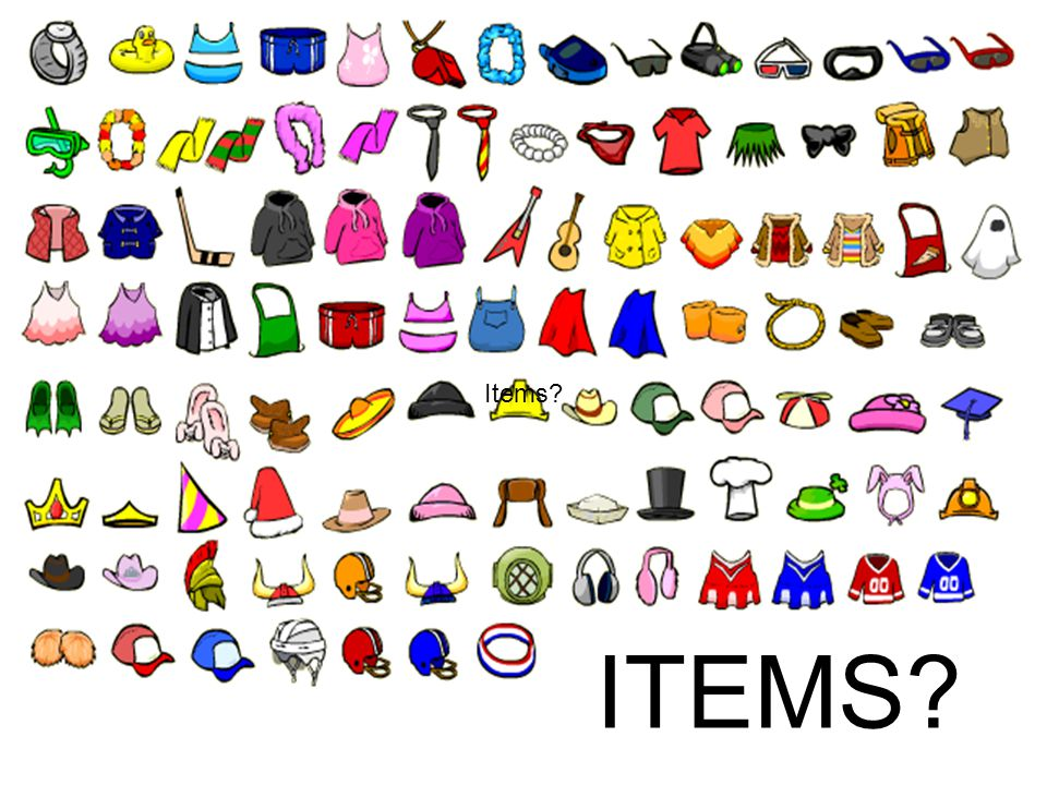 Items ITEMS