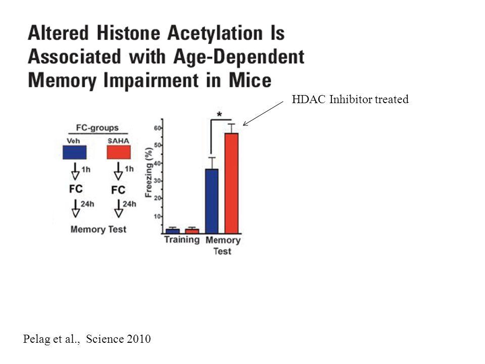 HDAC Inhibitor treated Pelag et al., Science 2010