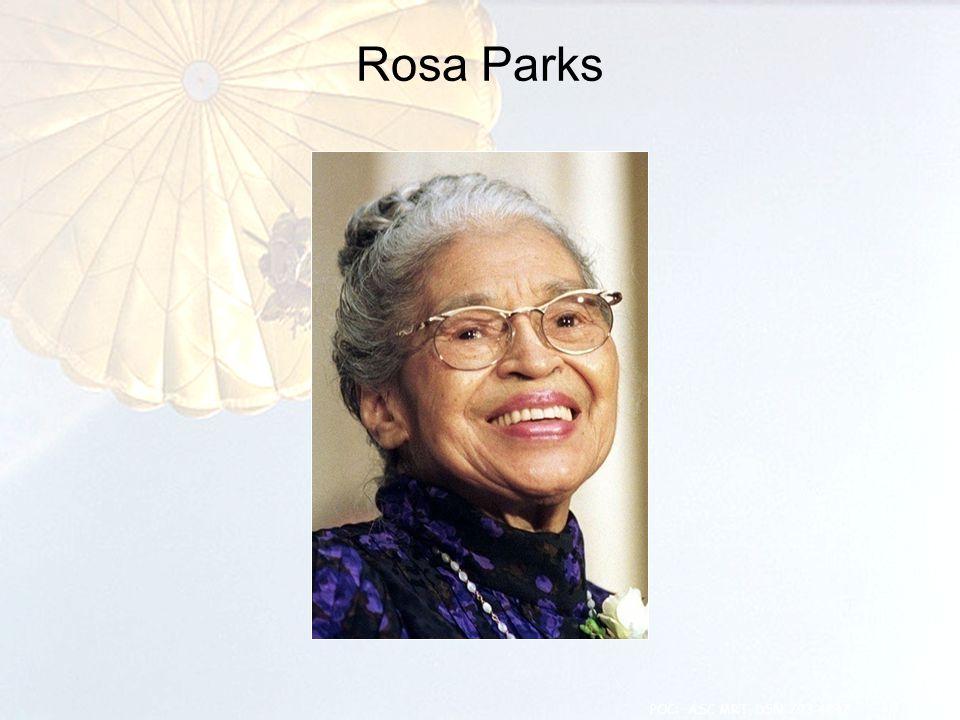 Rosa Parks 18 POC: ASC MRT, DSN 793-4847