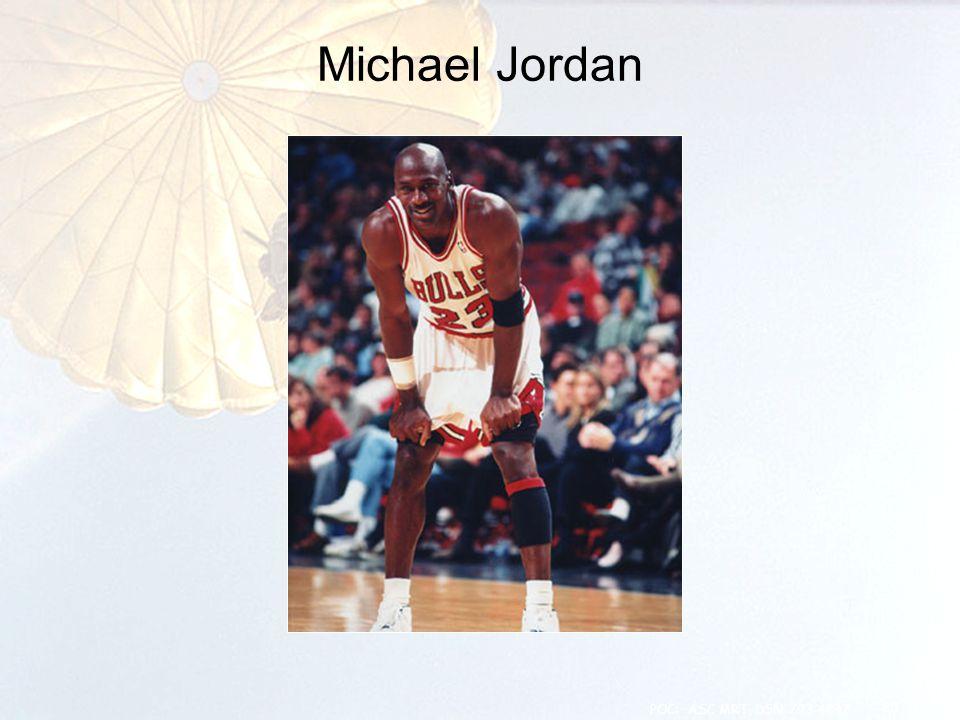 Michael Jordan 20 POC: ASC MRT, DSN 793-4847